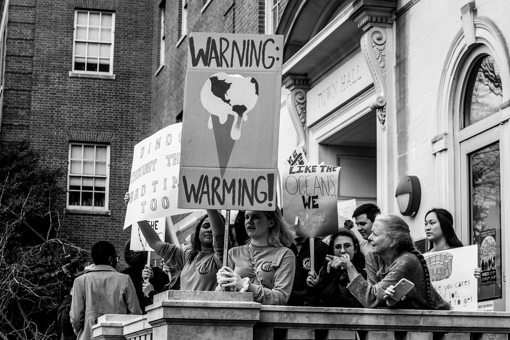 """#youthClimateStrike March 15, 2019 Morristown, NJ"" by lo.ags is licensed under CC BY 2.0"